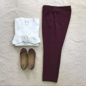LOFT Marisa Cropped Dresspants